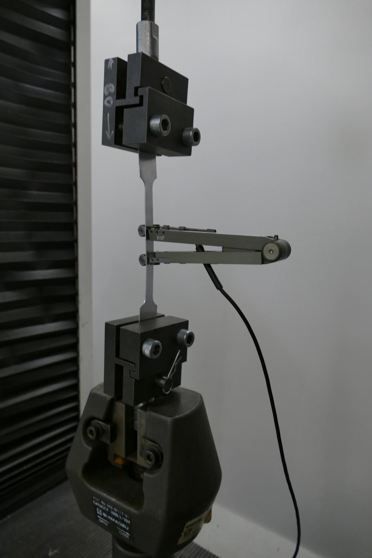 Mechanical testing- tensile testing